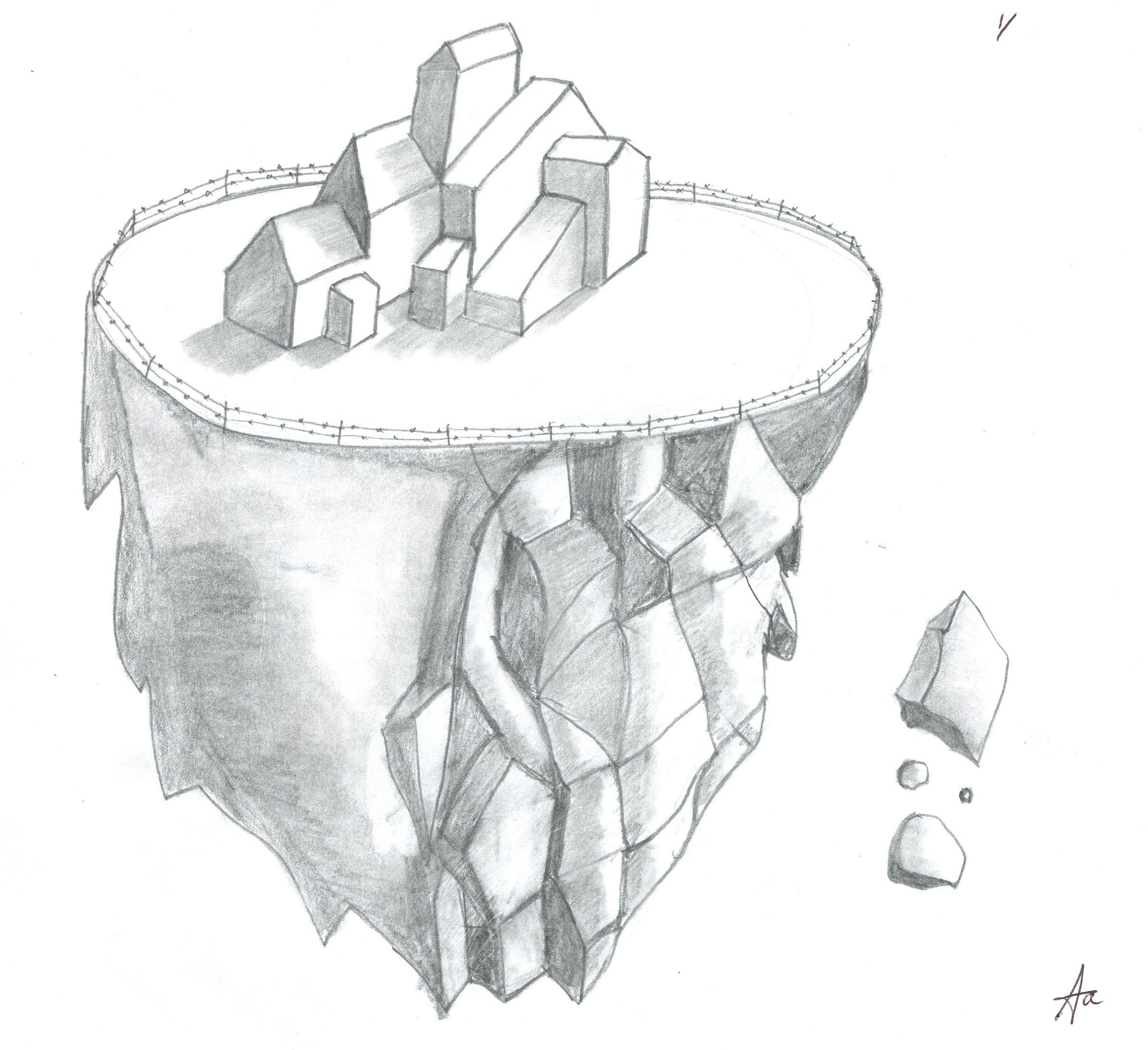 Dark Mansion on Asteroid